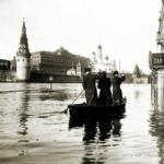 Наводнения и затопления в Москве